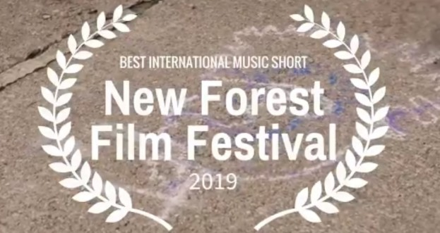Andy Sowerby wins 'Best International Music Short' at the New Forest