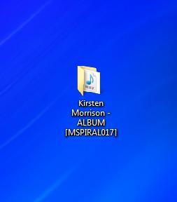 Kirsten Morrison album folder